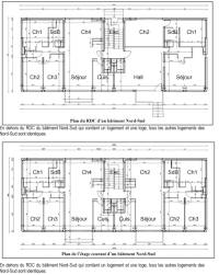 plan appartement grandes terres